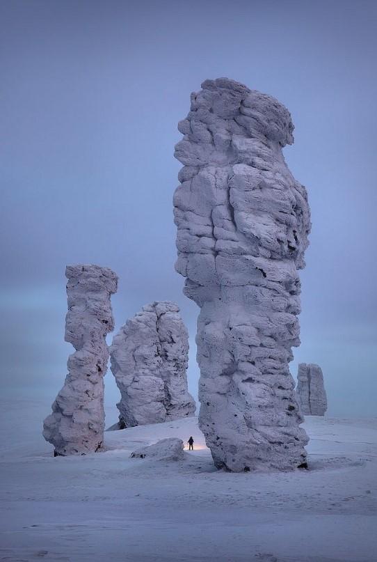 manpupuner kaya oluşumları rusya