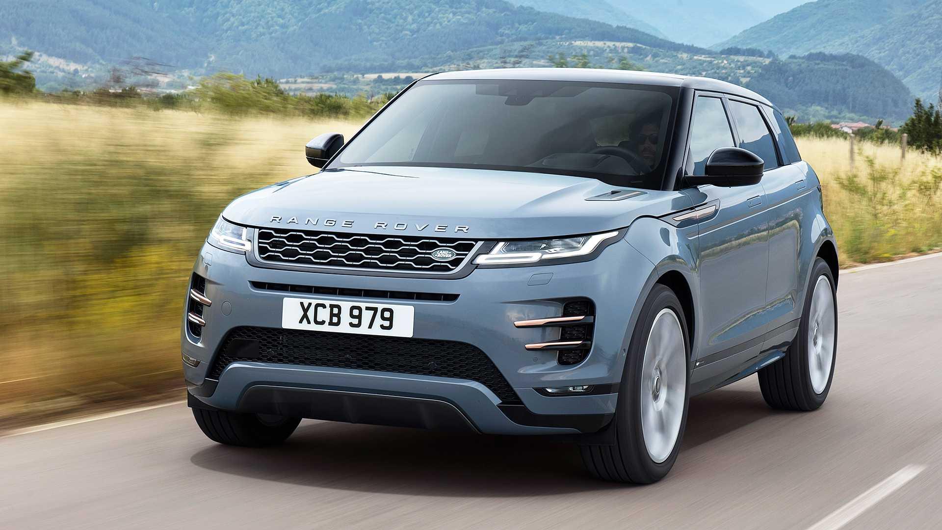 Land Rover Suv >> 2020 Range Rover Evoque Tanitildi