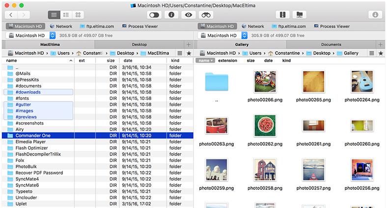 Bulut Dosyalarınız Dahil, Aradığınız Her Şeyi Tek Ekranda Bulan Uygulama: Commander One (MacOS)