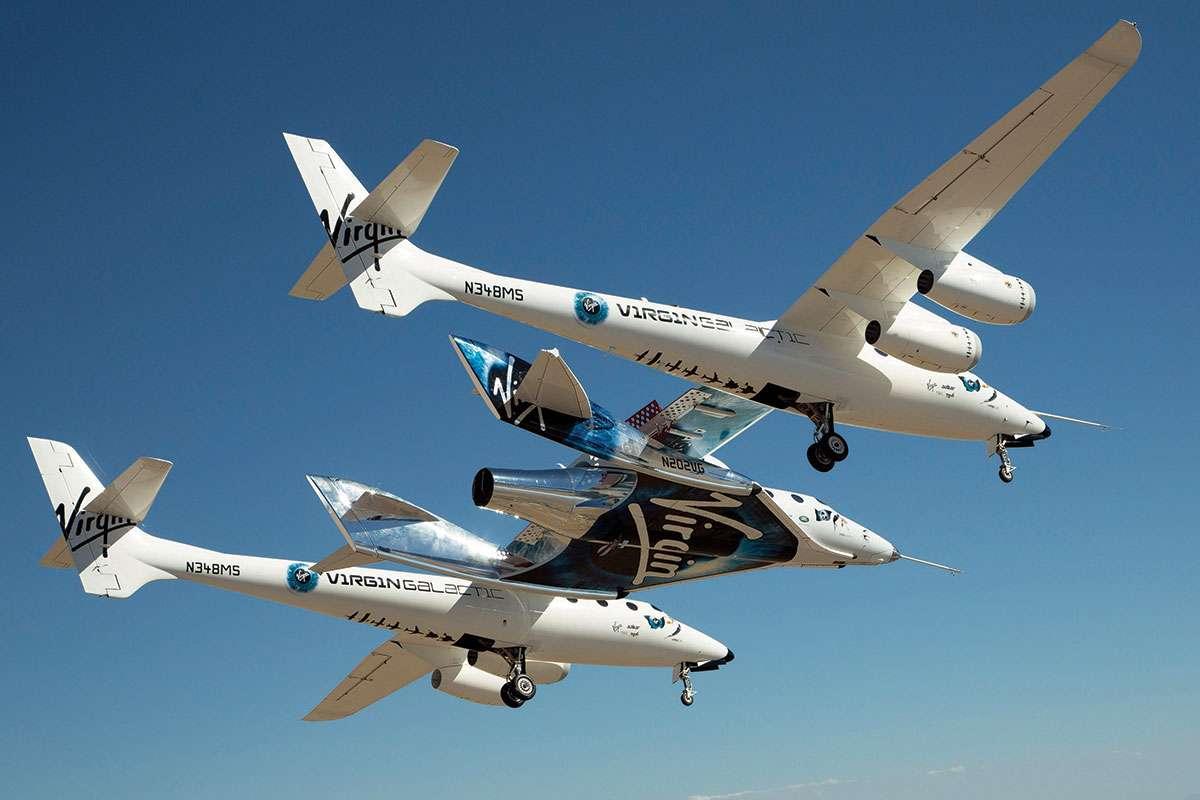 Virgin Galactic'in Uzay Aracı VSS Unity İlk Kez Uzaya Ulaştı