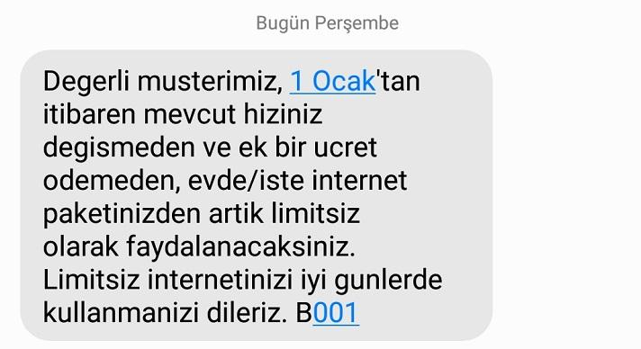 Türk Telekom'dan Mesaj: İnternetinizi Ek Ücret Ödemeden AKN'siz Kullanabileceksiniz