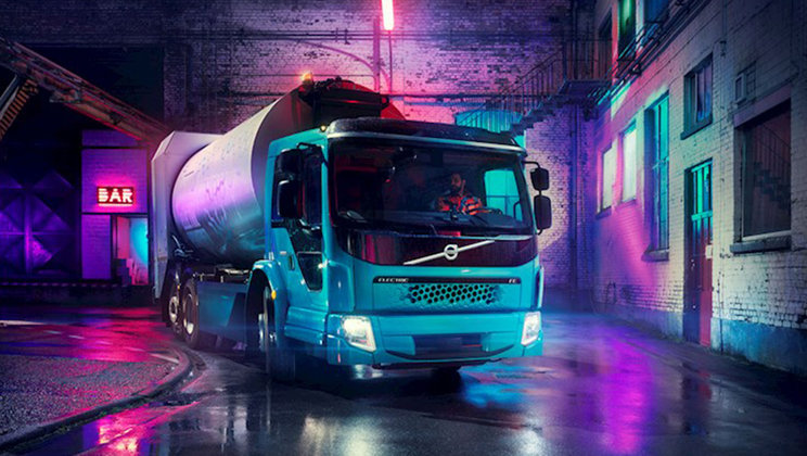 Volvo, 2019 Yılında İlk Elektrikli Kamyonlarının Testlerine Başlayacak