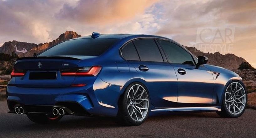 2020 Model BMW M3'e Ait Görsel Paylaşıldı