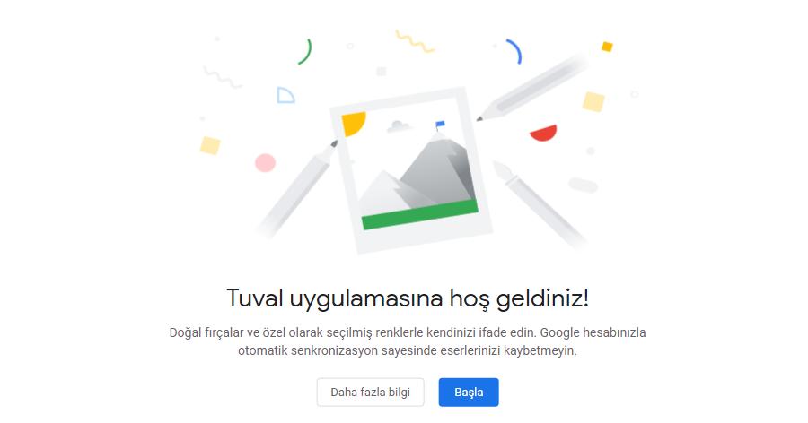 Google, Web Tabanlı Çizim Aracı Tuval'i Kullanıma Sundu