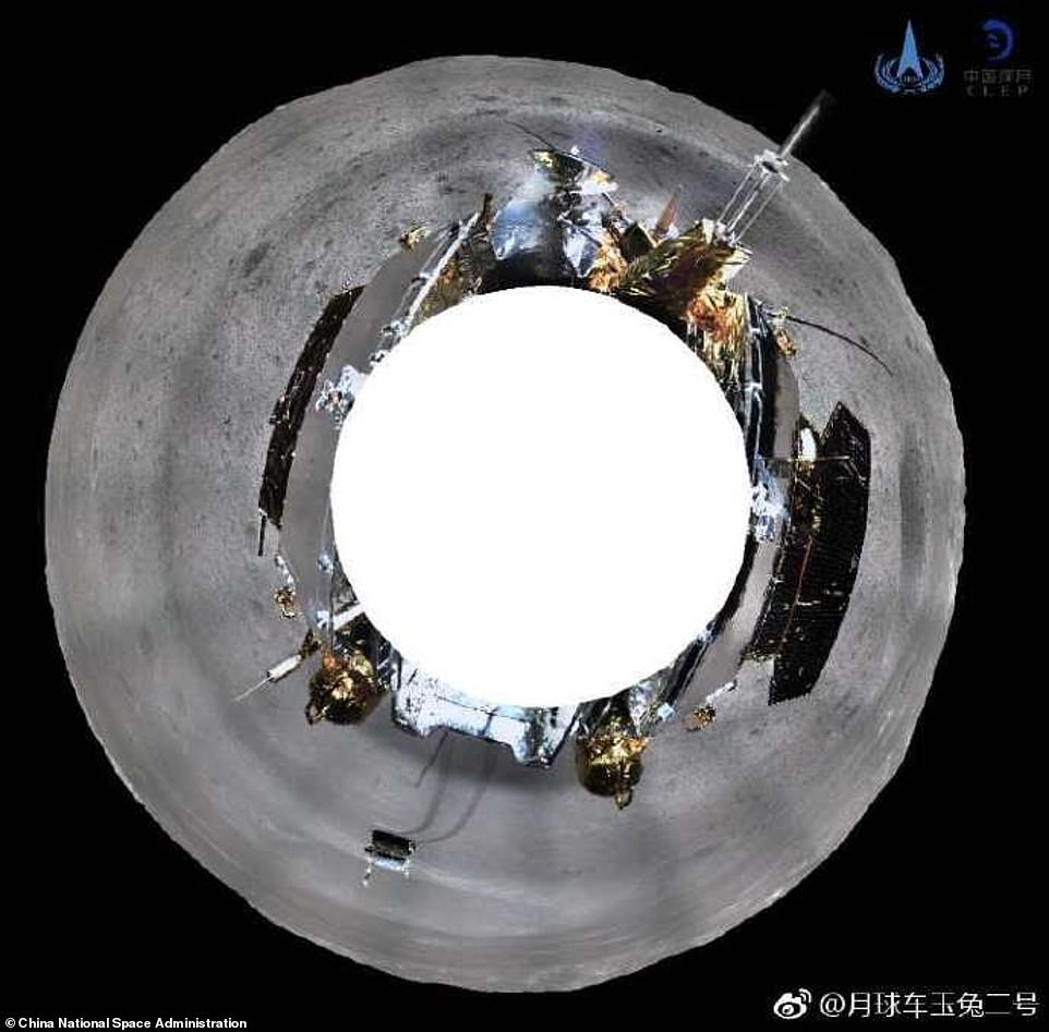 Chang'e-4 Ay Aracından Dünya'ya Etkileyici Fotoğraflar
