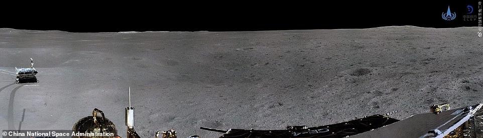 Chang'e-4, Ay'ın Uzak Bölgesinden Dünya'ya Büyüleyici Fotoğraflar Gönderdi ile ilgili görsel sonucu