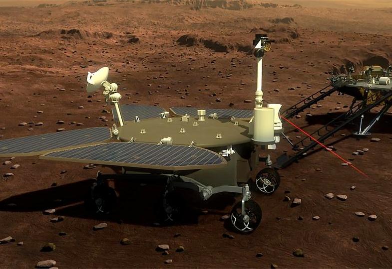 Çin, Önümüzdeki Sene Mars'a İlk Uzay Aracını Göndermeye Hazırlanıyor