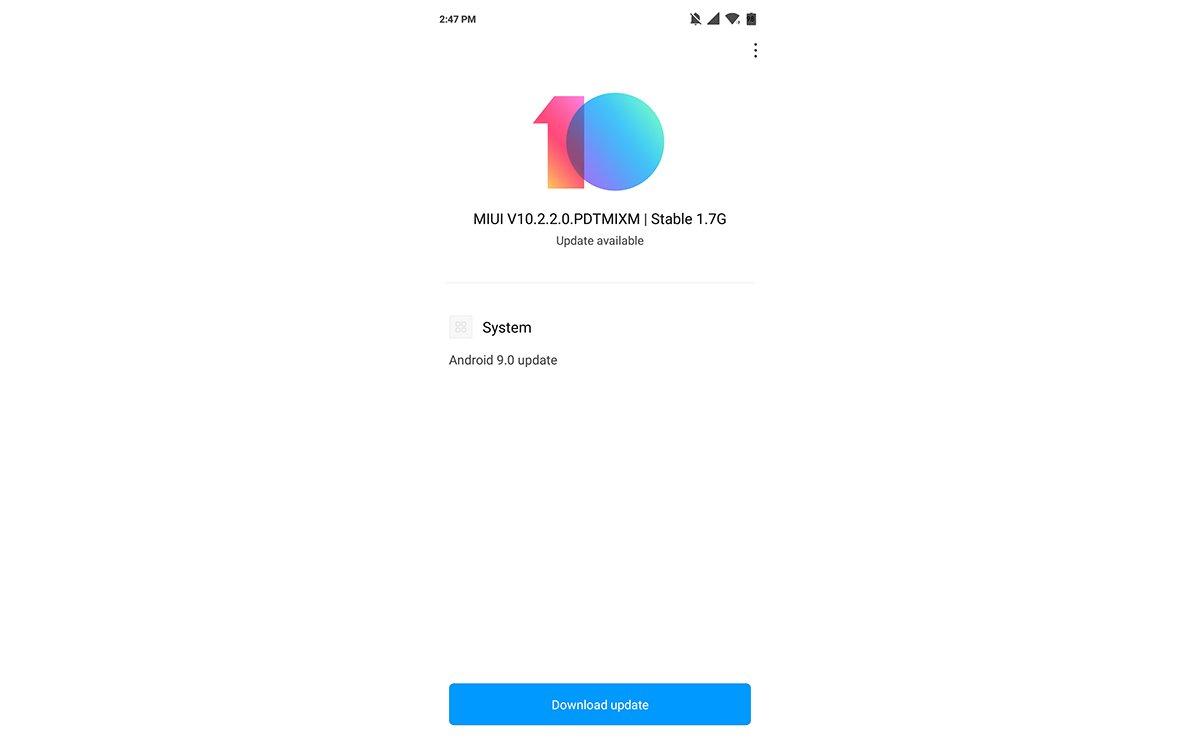 Xiaomi, Mi 8 Lite İçin MIUI 10'u Dağıtmaya Başladı