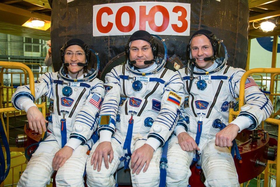 Soyuz Roketi Arızasından Son Anda Kurtulan Astronotlar, Yeniden Uzaya Çıkıyorlar