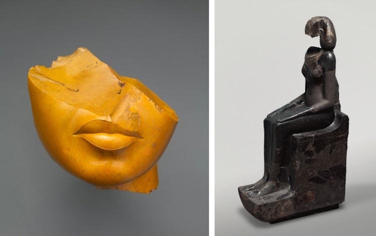 Antik Mısır Heykellerinin Burunları Neden Kırık Olur?
