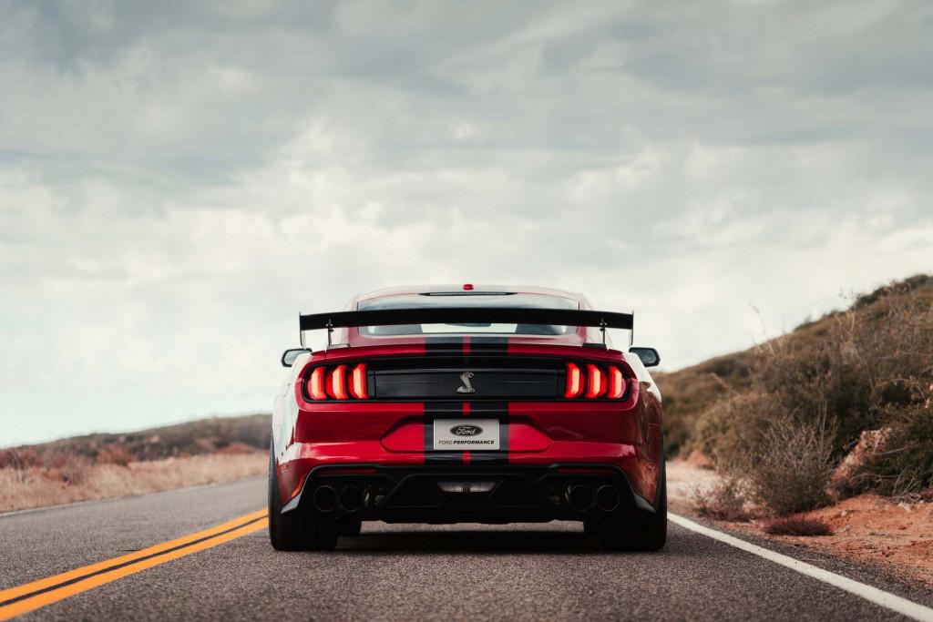Ford, 2020 Model Mustang Shelby GT500'ün Maksimum Hızını Düşürdü