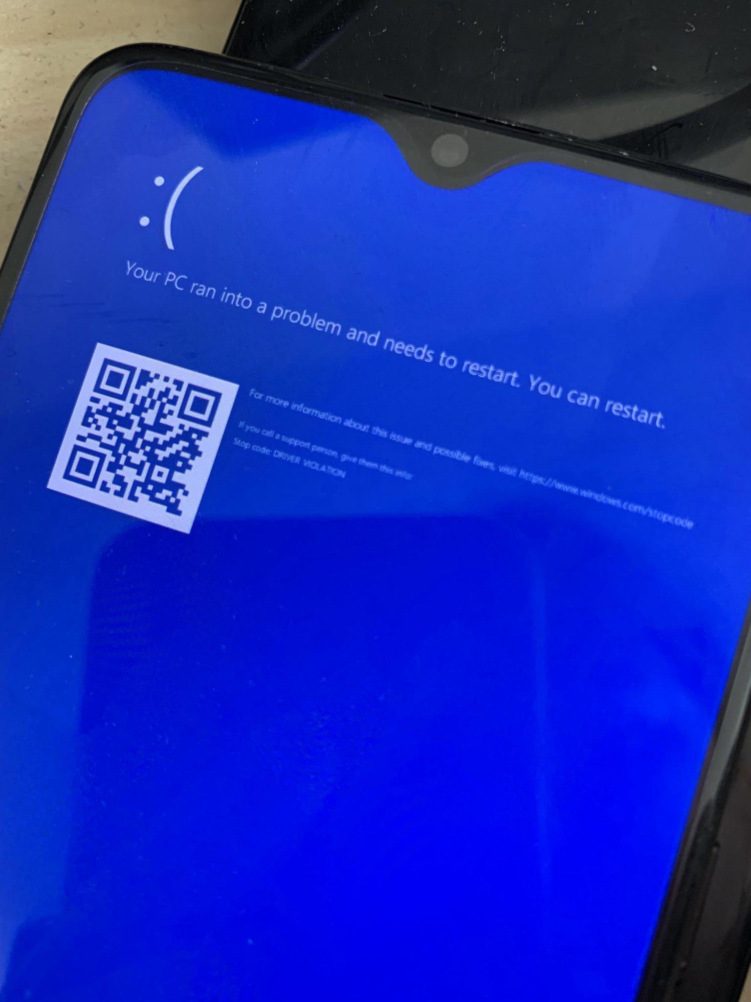 Windows 10 ARM Kullanan Android Telefon