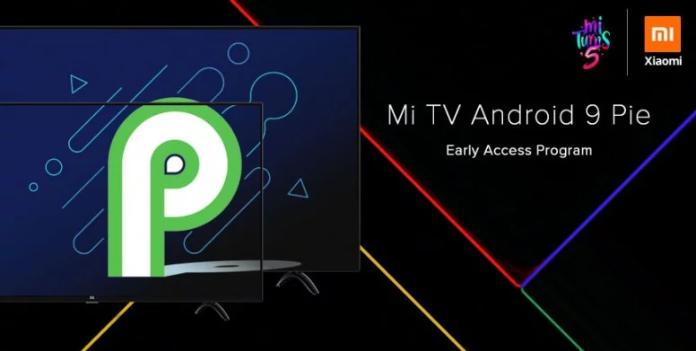 mi tv android 9
