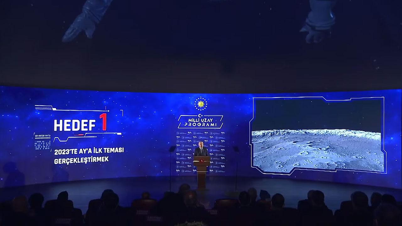 Türkiye'nin Milli Uzay Programı Tanıtıldı