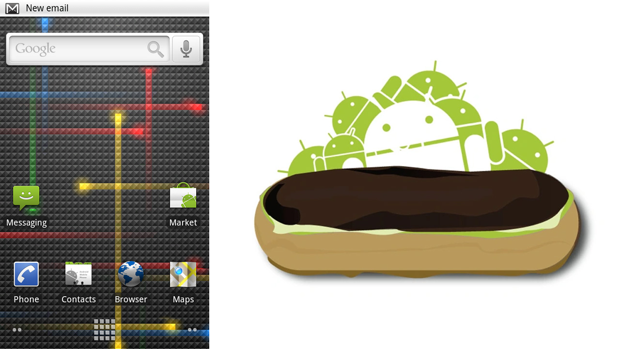 Android 2.0 - 2.1 Eclair