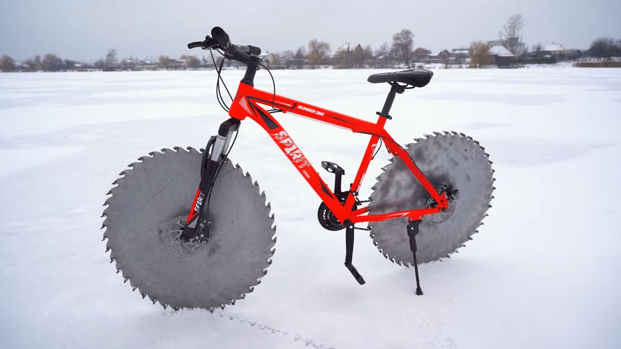 testere dişli bisiklet