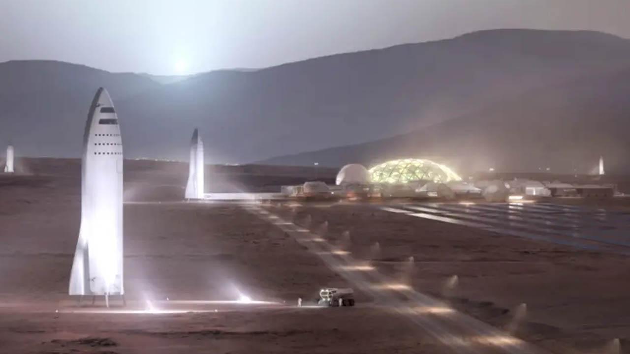 Mars'ta şehir
