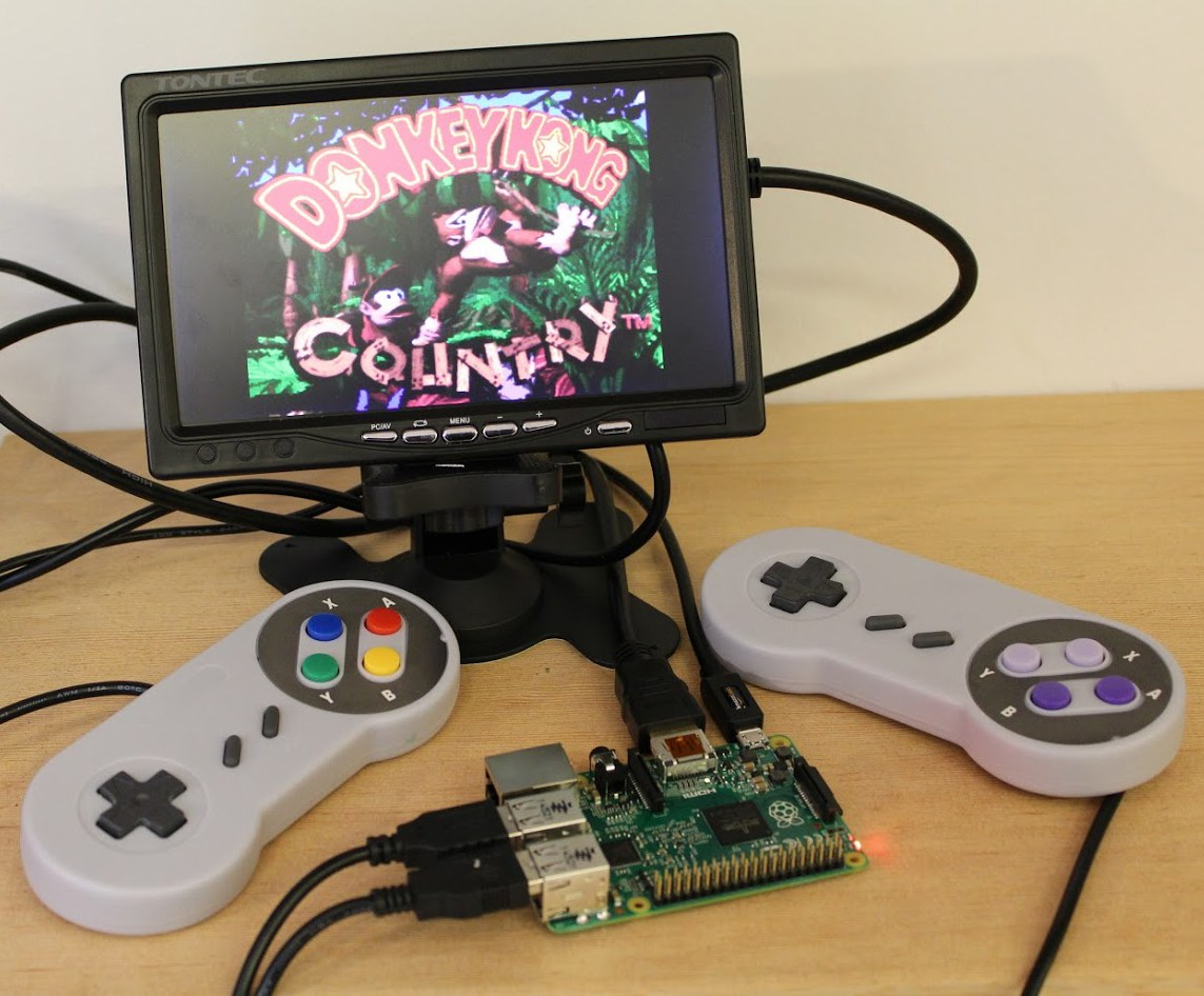 emulator, Raspberry Pi