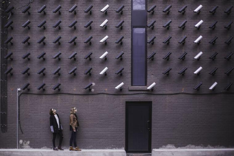 güvenlik kamerası insan