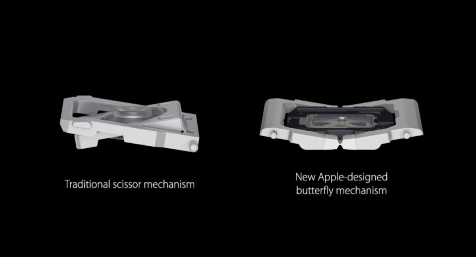 scissor mechanism apple macbook