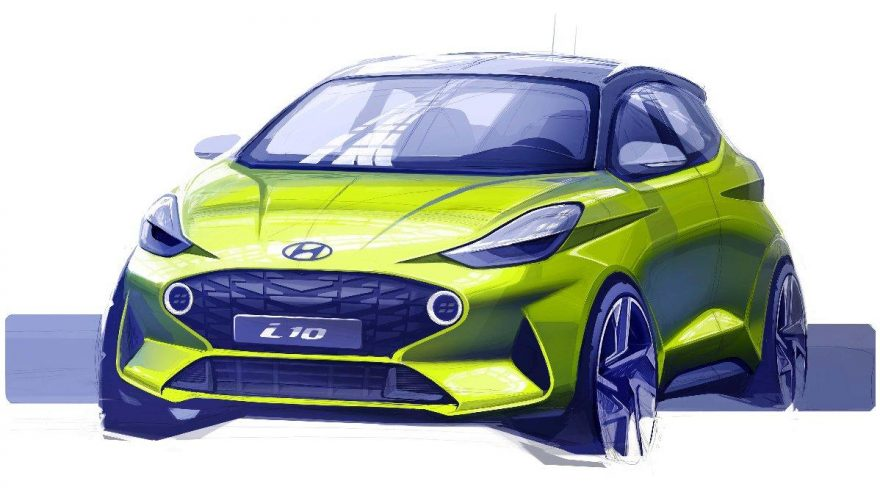 Hyundai-i10-2019-teaser-çizimi