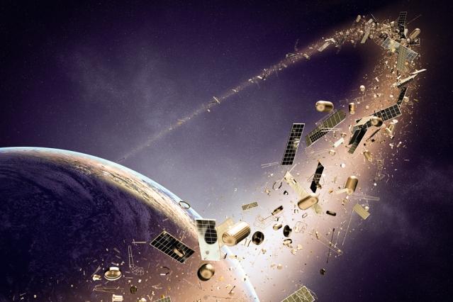 uzay çöpleri