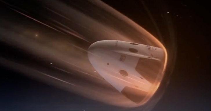 uzay aracı atmosfer