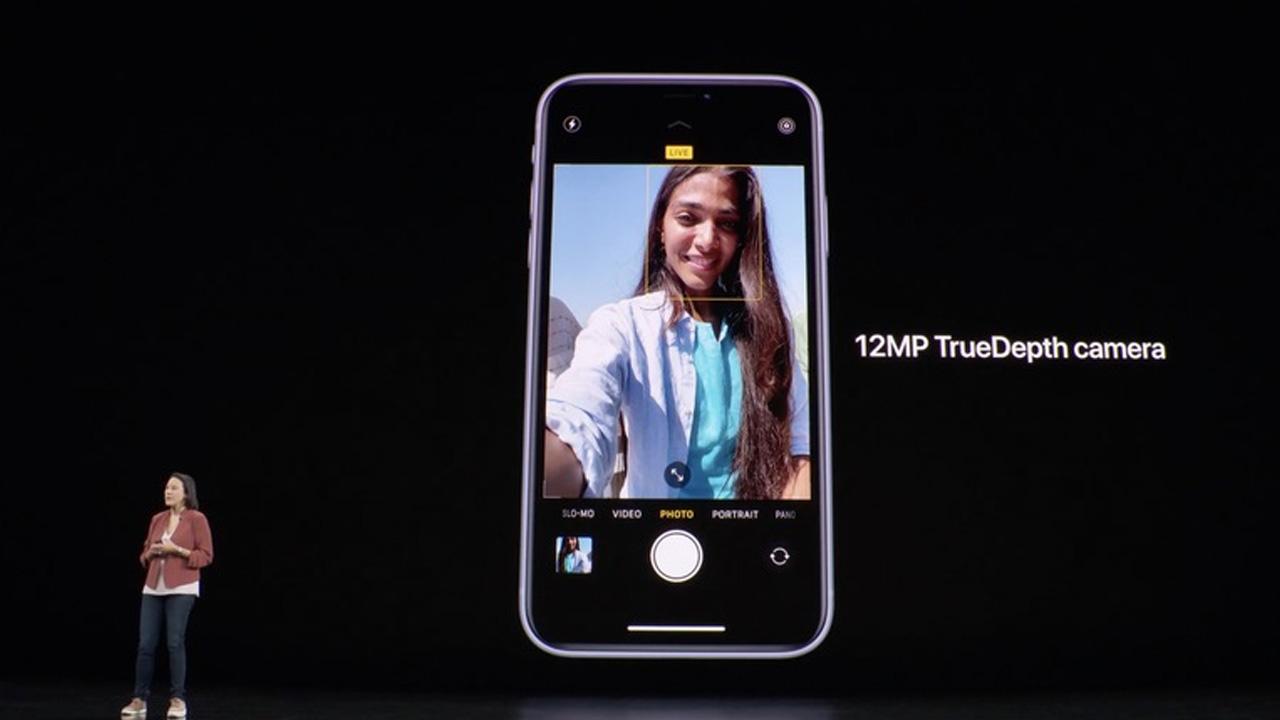 iphone 11 ön kamera