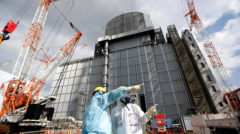 Fukushima nükleer santral