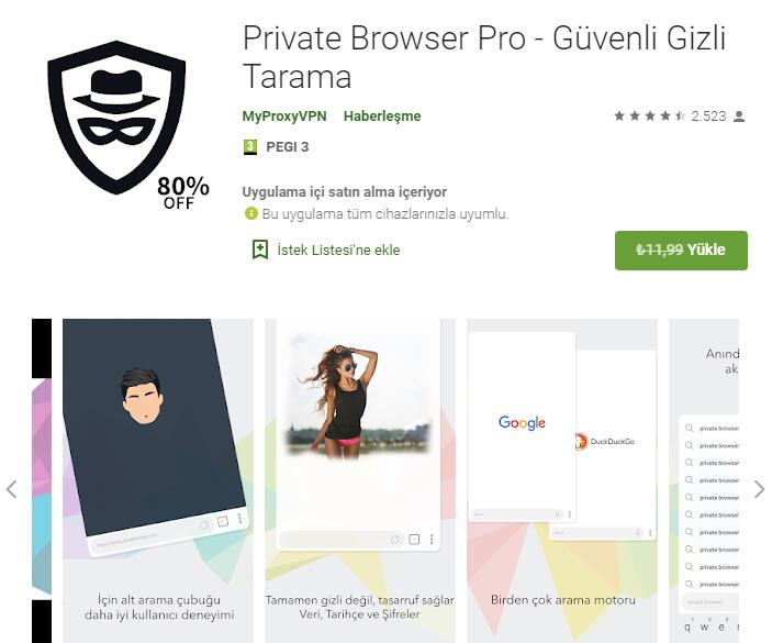 Private Browser Pro