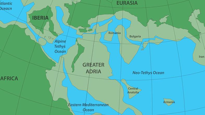 kayıp kıta büyük adria