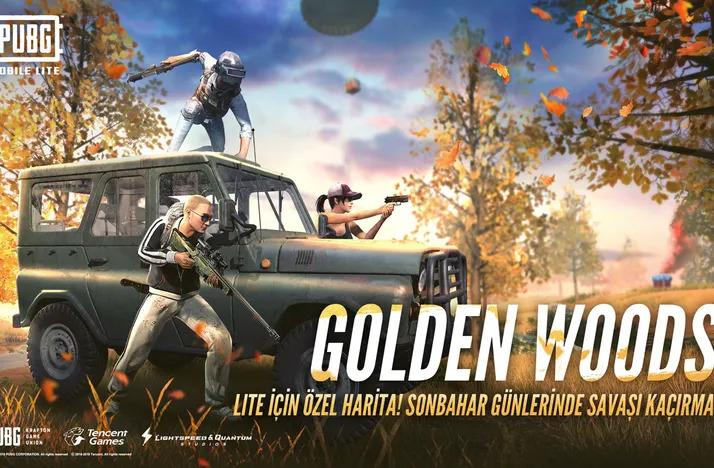 pubg mobile lite güncelleme Golden Woods