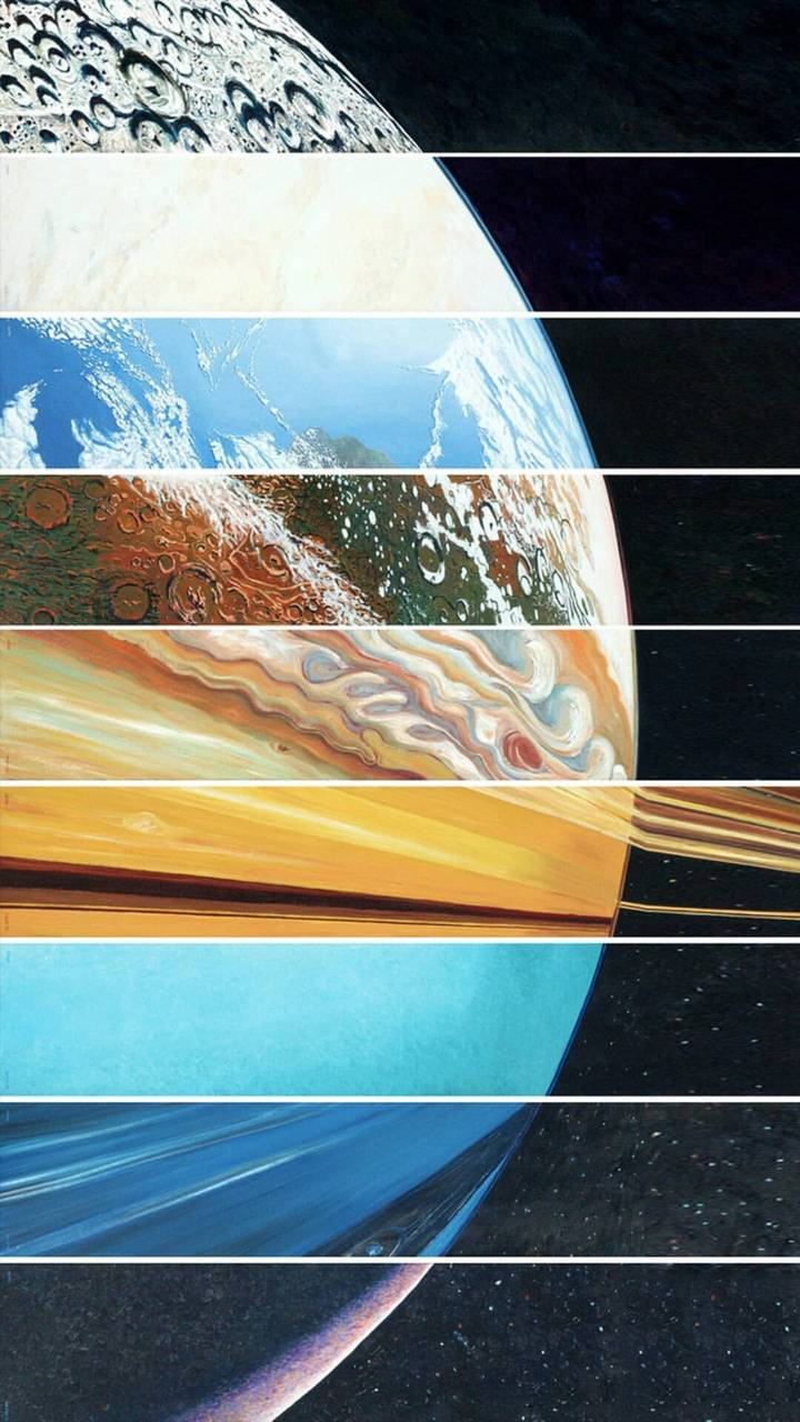three planets aligned - 606×1199