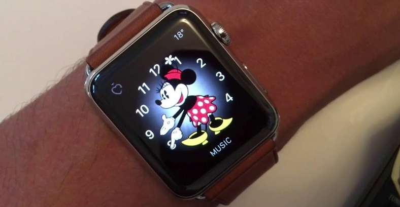 apple watch mickie minnie