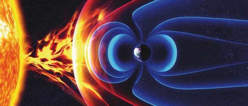 manyetik alan güneş rüzgarı