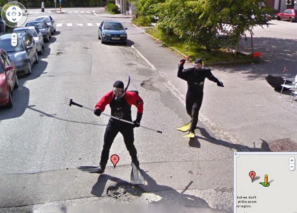 Google Haritalar'a Yansımış Biribirinden Komik 15 Görüntü