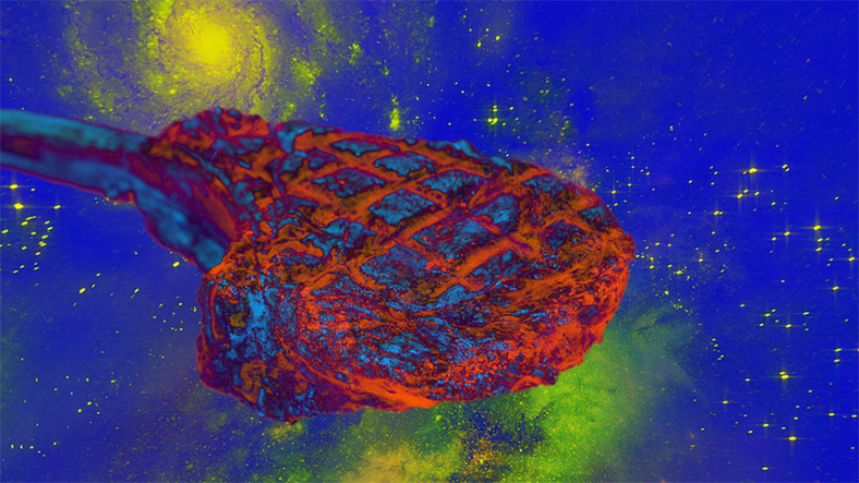 Bilim insanları, uzayda ilk defa et üretmeyi başardı