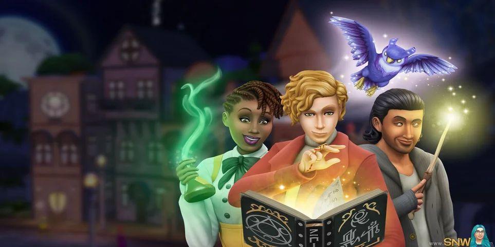 sims 4 büyücüler
