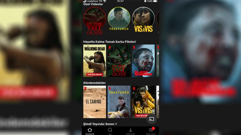 Netflix geçmişi nasıl silinir (iOS)