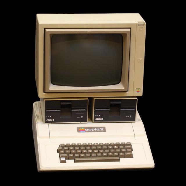 apple II bilgisayar