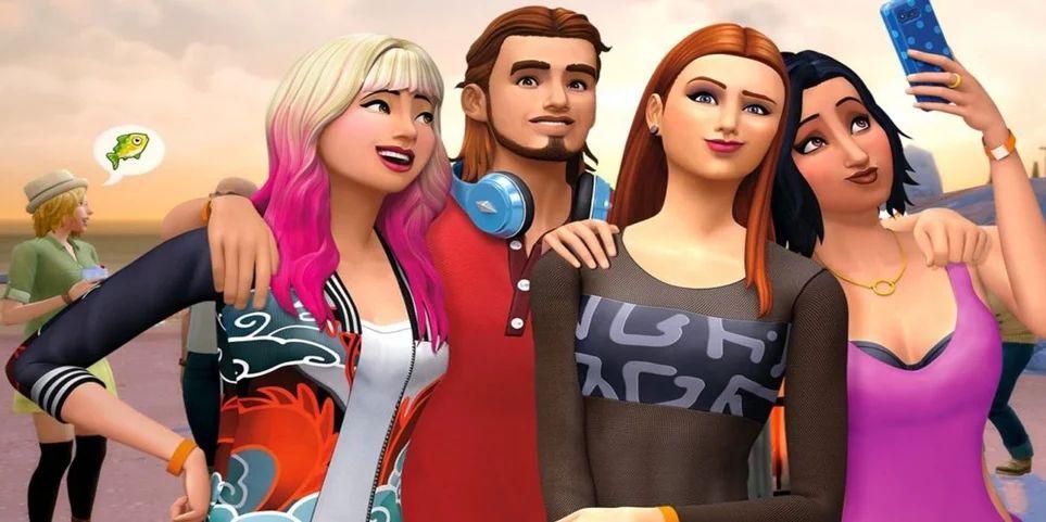 sims 4 grup karakter