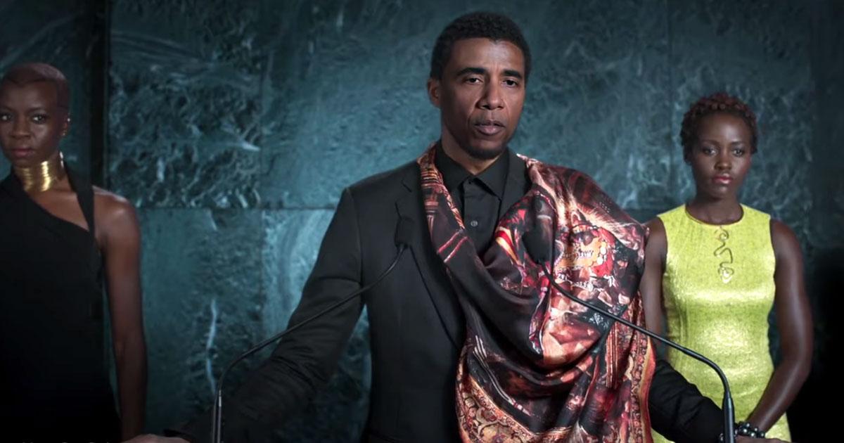 Deepfake, Black Panther Obama