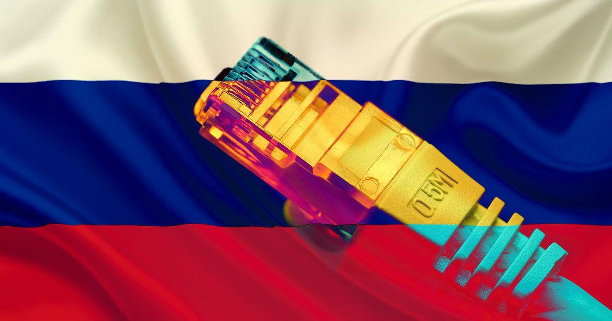 Rusya'da internet kesintisi