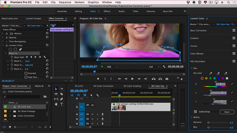 adobe premier video editing