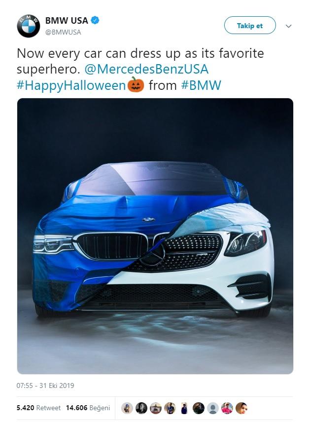 BMW Twitter paylaşımı