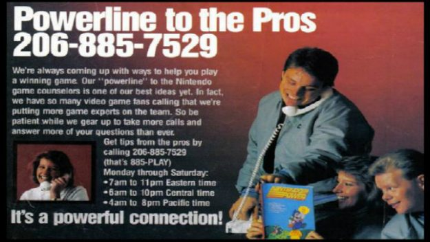 Nintendo Hotline