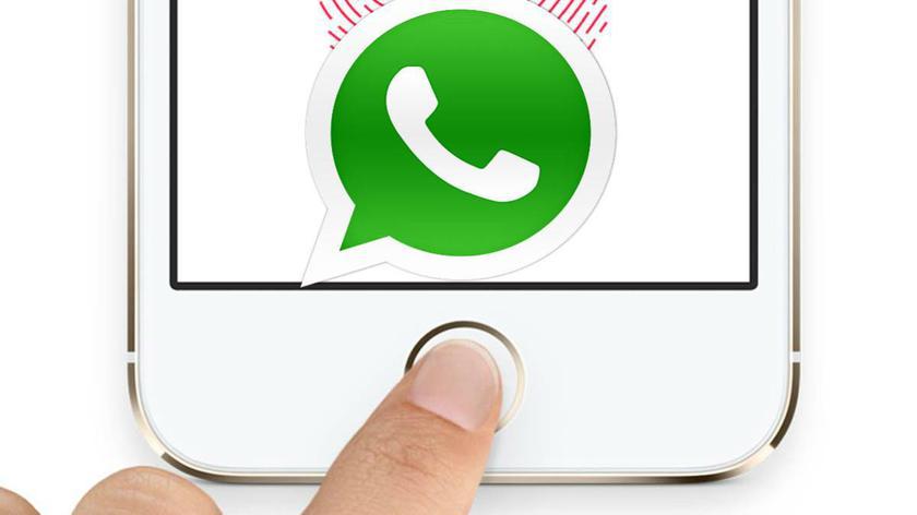 WhatsApp Touch ID iOS
