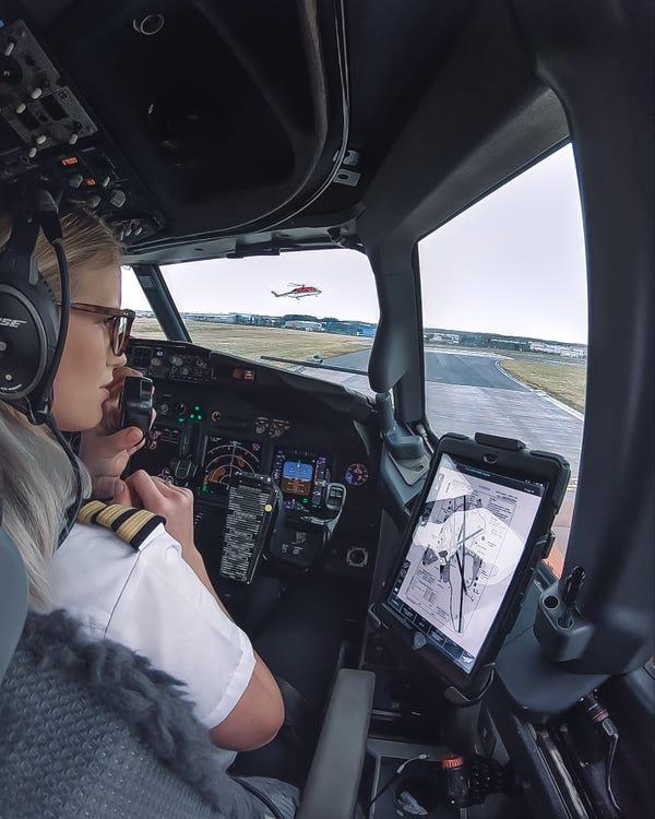 pilot kadın