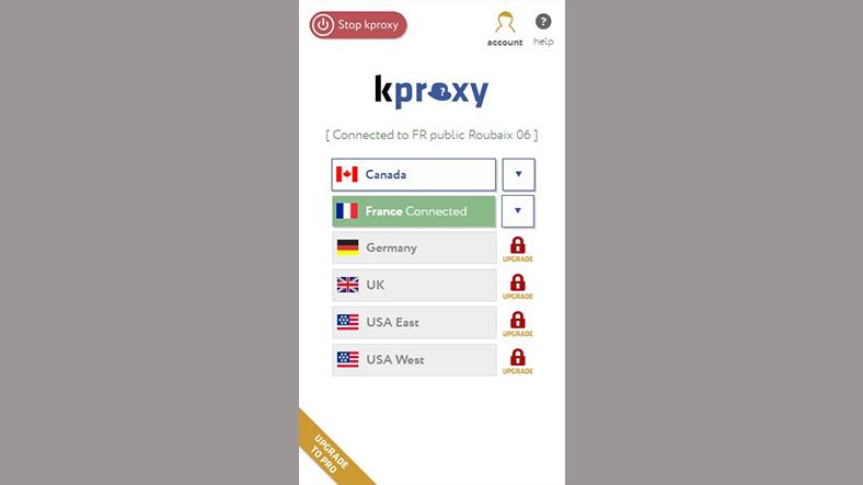 kproxy sunucular, nedir