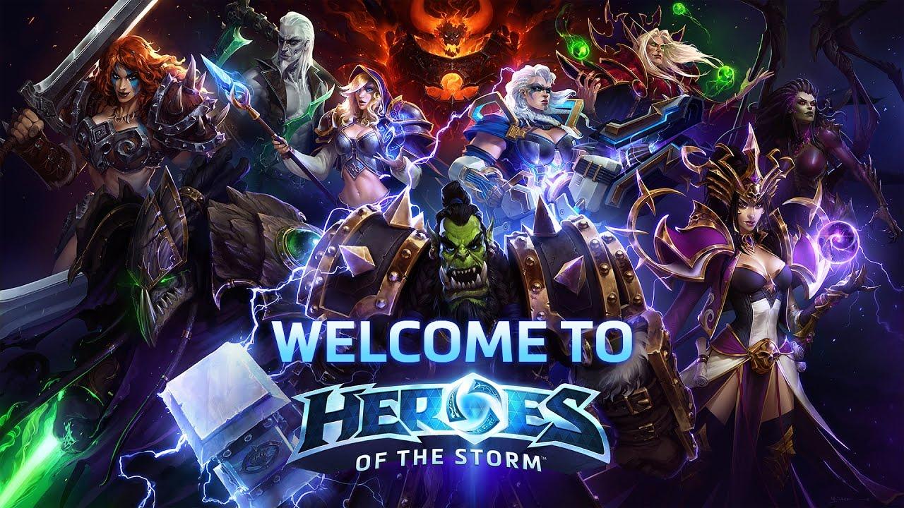 Heroes of the Storm, battlenet, blizzard